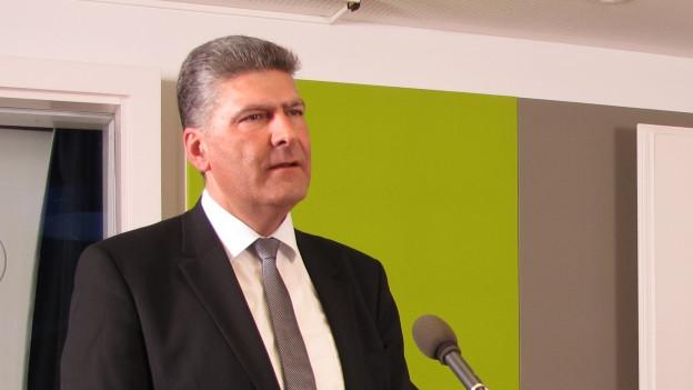 Boris Tschirky ist Gemeindepräsident von Gaiserwald.