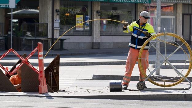 Das Tirol rüstet mit Glasfaser auf