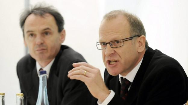 Der ehemalige St. Galler Finanzchef Martin Gehrer bezieht Position im Pensionskassenstreit.