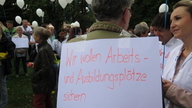 Petition für Spital Heiden eingereicht