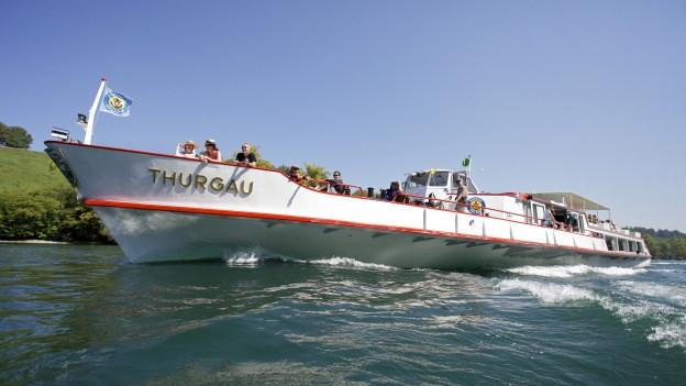 Vor allem der Herbst lockte die Passagiere auf das Schiff.