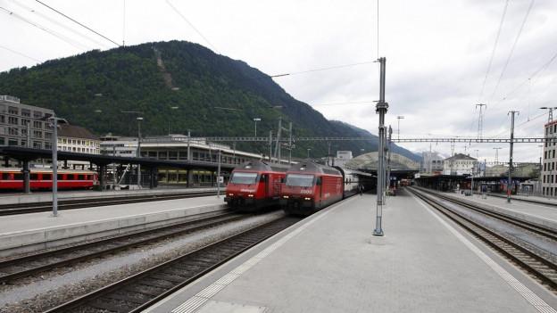 Das geplante mobile ÖV-Ticket in Graubünden gilt nur für Reisen mit der RhB. In Graubünden verkehren aber auch SBB-Züge.