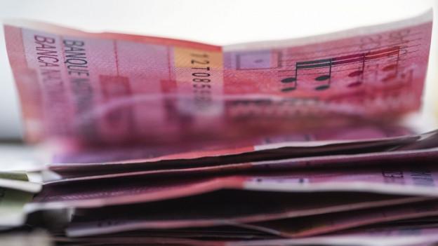 Ein Bündel Geld