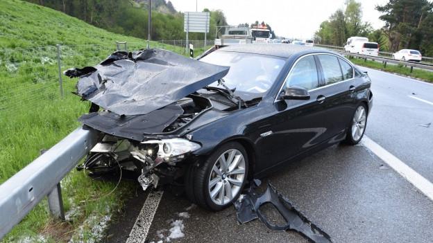 Viele Autofahrer waren mit Sommerpneus unterwegs.