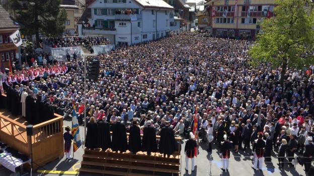 Landsgemeinde Appenzell 2017 mit umstrittenen Geschäften