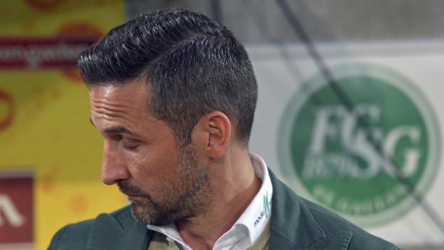 Hat beim FC St. Gallen ausgedient: Joe Zinnbauer