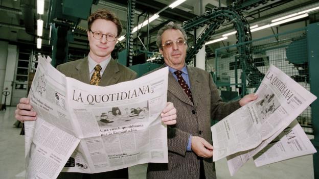 Die romanische Tageszeitung «La Quatidiana» steht vor dem Aus.