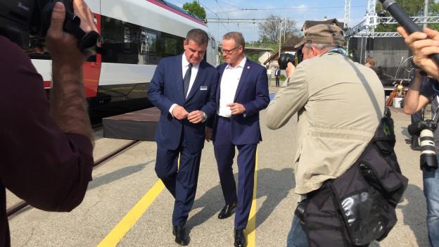 Stadler Rail übergibt Milliarden-Projekt an SBB