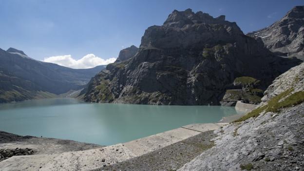 Linth Limmern, das grösste Pumpspeicherkraftwerk der Schweizk, ist in Glarus.