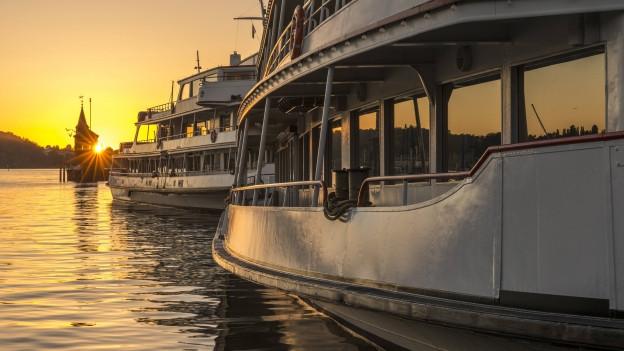 Die Anfahrt im Hafen Konstanz ist ein Streitpunkt innerhalb des Verbandes