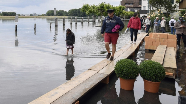 Das Hochwasser brachte mehr Phosphat