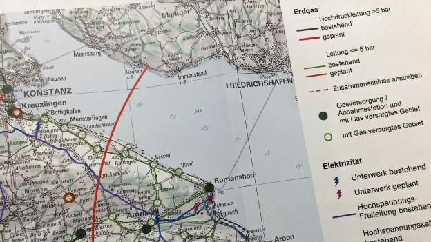 Neue Erdgas-Leitung im Bodensee
