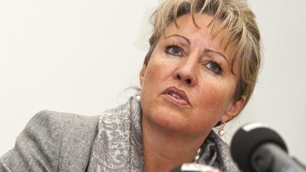Finanzdirektorin Barbara Janom Steiner präsentierte am Donnerstag ihr letztes Budget.
