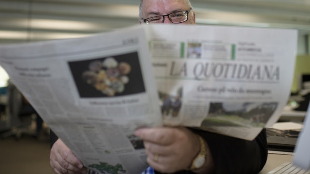 «La Quotidiana» wird wegen der regionalen Berichterstattung geschätzt.