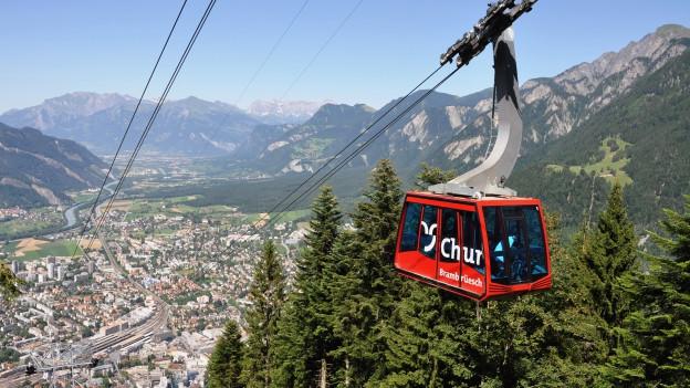 Schon bald soll eine Bahn direkt von Chur aus auf den Berg hinauf fahren.