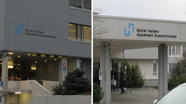 Spital Herisau und Spital Heiden