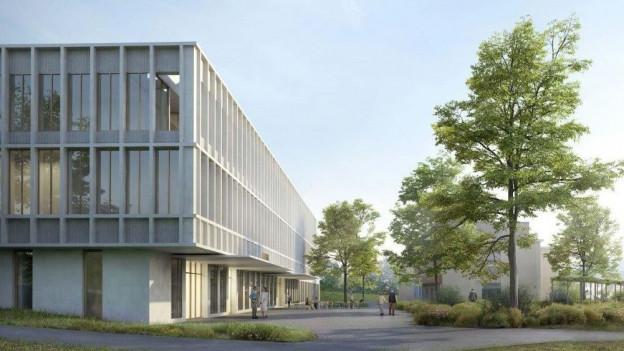 So soll das Ambulante Versorgungszentrum Plus in Appenzell dereinst aussehen.