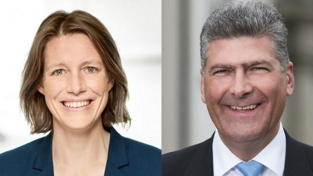 Sonja Lüthi (GLP) und Boris Tschirky (CVP).