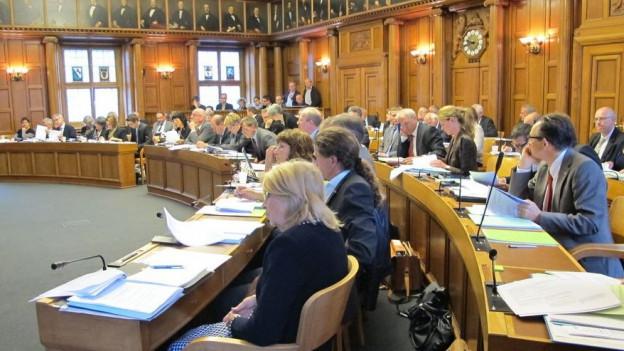 In Appenzell Ausserrhoden werden die Mitglieder des Kantonsrates im Majorz-Verfahren gewählt.