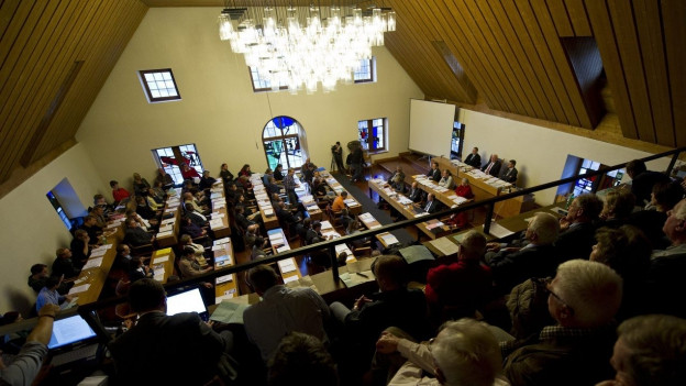 Die CVP hat ihren letzten Sitz im Stadtrat verloren.