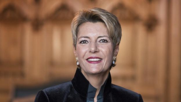 Karin Keller-Sutter zur Ständeratspräsidentin gewählt