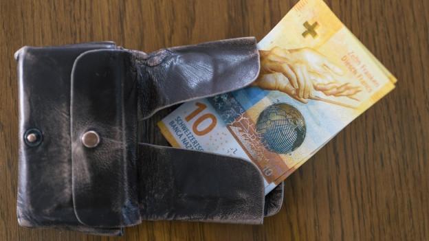 Im Portemonnaie des Kantons St. Gallen dürfte im 2018 noch etwas Weniges übrigbleiben.