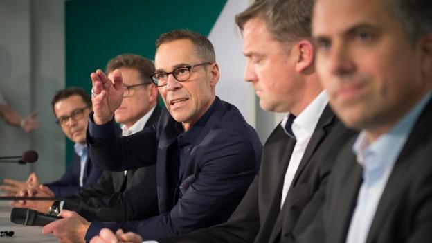 Der neue Verwaltungsrat des FC St. Gallen.