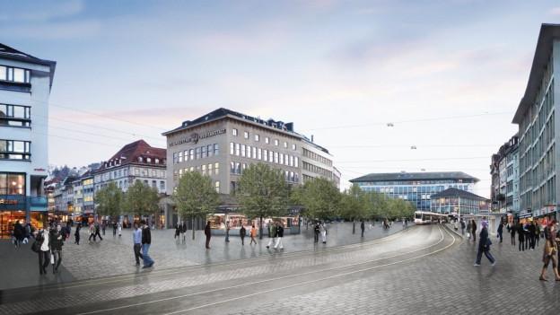 Im März 2015 scheiterte die Vorlage zur Neugestaltung des Marktplatzes zum zweiten Mal