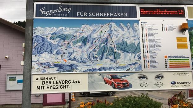 Bergbahnenstreit im Obertoggenburg.