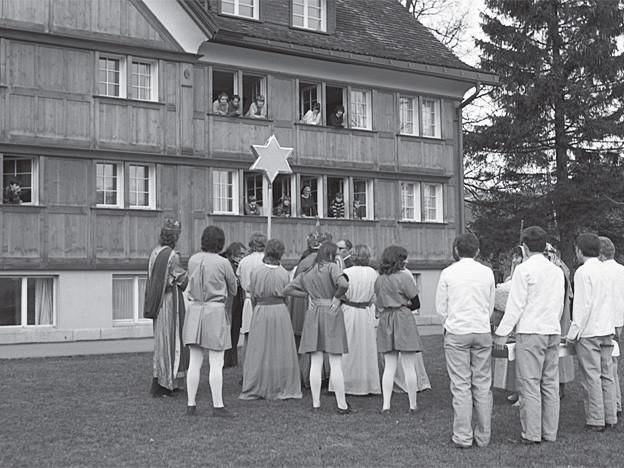 Am Dreikönigstag gab es Besuch aus dem Dorf.
