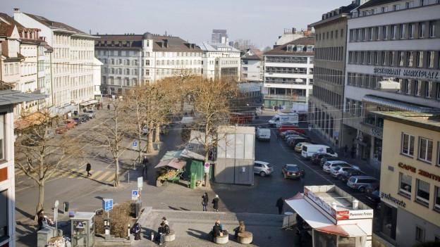 Marktplatz SG
