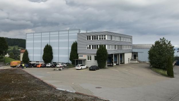 Die Liegenschaft der HWB Kunststoffwerke in Wolfhalden sind im Internet zum Verkauf ausgeschrieben.