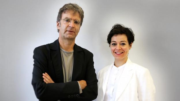Stephan Kunz und Nicole Seeberger teilen sich die Leitung des Kunstmuseums.