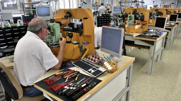 Die Ostschweizer Industrie profitiert vom Aufschwung in der Eurozone.