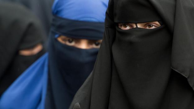 Burkas lösen auch im Kanton St. Gallen unterschiedliche Reaktionen aus