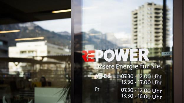 Sitz von Repower in Landquart. Dort findet am Regionalgericht die Verhandlung statt.