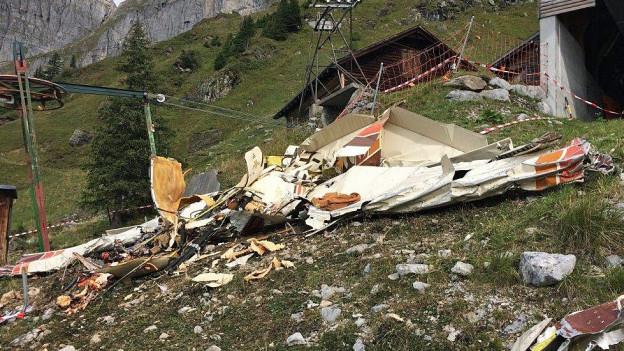 Absturz eines Kleinflugszeugs in Braunwald