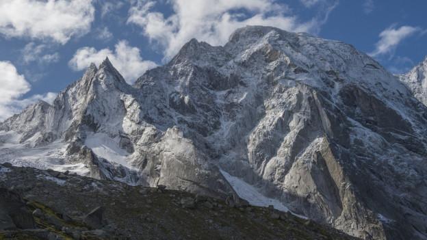 Erneuter Bergsturz am Piz Cengalo