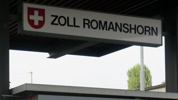 Die Romanshorner Zollstelle bleibt erhalten.