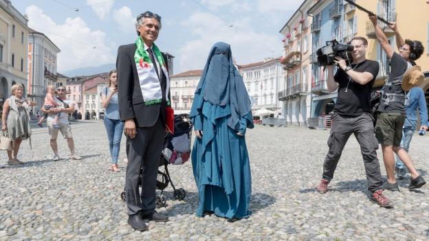 Bislang gibt es im Kanton Tessin ein Verhüllungsverbot.