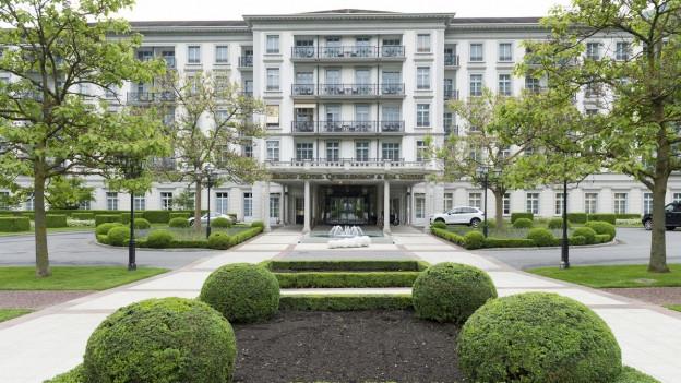 Vor allem die Nobelhotels in der Region profitieren von der Nachfrage nach zusätzlichen Unterkünften.