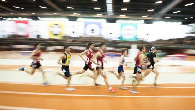 Athletikhalle St. Gallen.