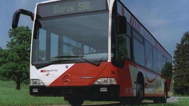 Noch werden im Kanton Glarus keine Buslinien gestrichen.