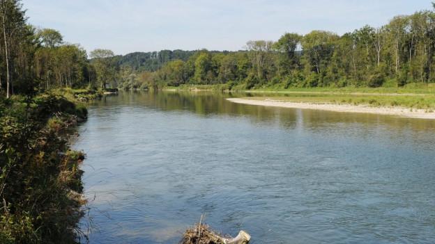 Mit der Volksinitiative sollte das Kulturland bei Gewässerkorrektionen geschützt werden.