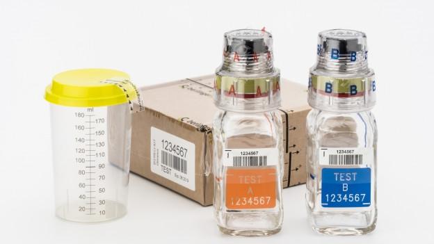 Anti-Dopingfläschchen sollen mangelhaft sein