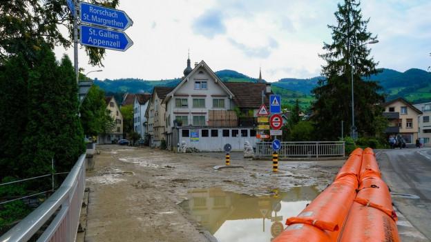 Rund 35 Millionen Franken: Soviel soll für den Hochwasserschutz in und um die Stadt Altstätten im St.Galler Rheintal investiert werden.