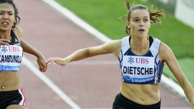 Riccarda Dietsche ist die erste Studentin der PH Rorschach mit dem Spitzensport-Status