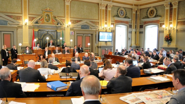 Steuerdebatte im St. Galler Kantonsrat
