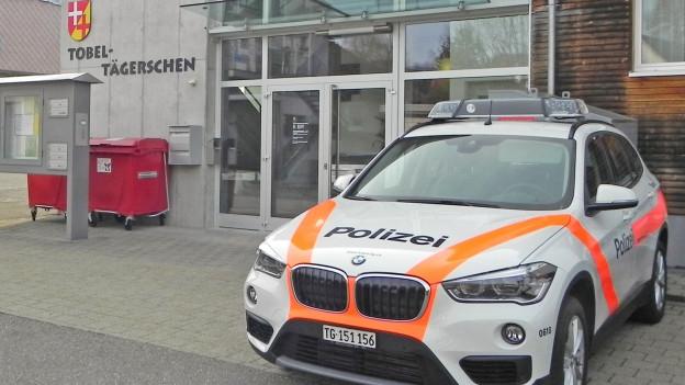 Kleine Polizeiposten im Thurgau.