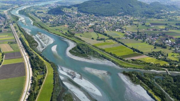 Sollte sich der Koblacher Gemeinderat gegen eine Verbreiterung des Flussbettes aussprechen, könnte das das ganze Projekt gefährden.